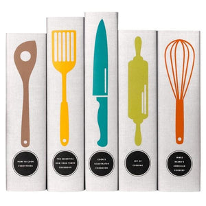 Classic Cookbooks - Utensils Book Set