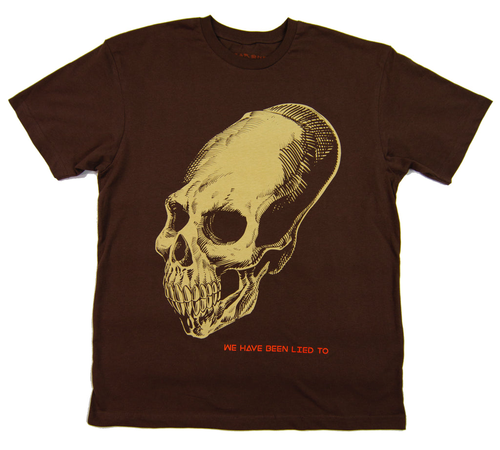 Elongated Skull Tee + Pin