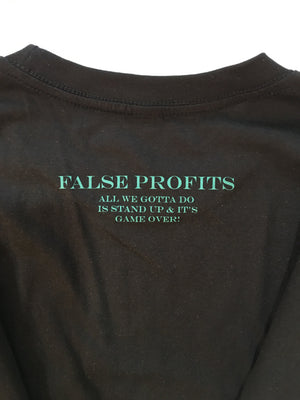 False Profits Tee | BLK