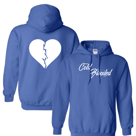 Cold Blooded Blue Hoodie