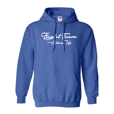 Fight Team Blue Hoodie