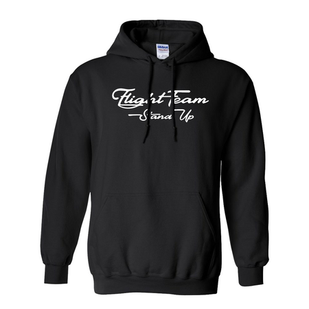 Fight Team Black Hoodie