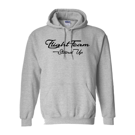 Fight Team Gray Hoodie