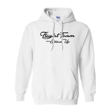 Fight Team White Hoodie