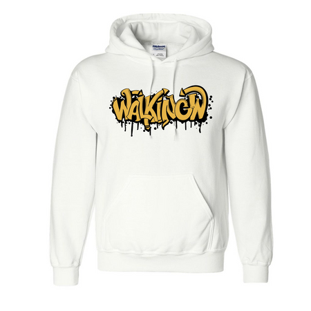 Walking W Graffiti White Hoodie