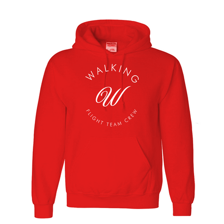Walking W Red Hoodie