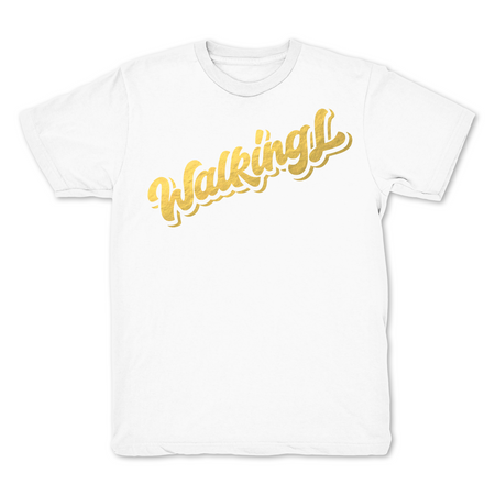 Walking L White Limited T shirt