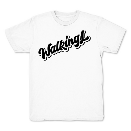 Walking L White T shirt