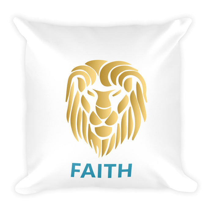 Square Pillow FAITH