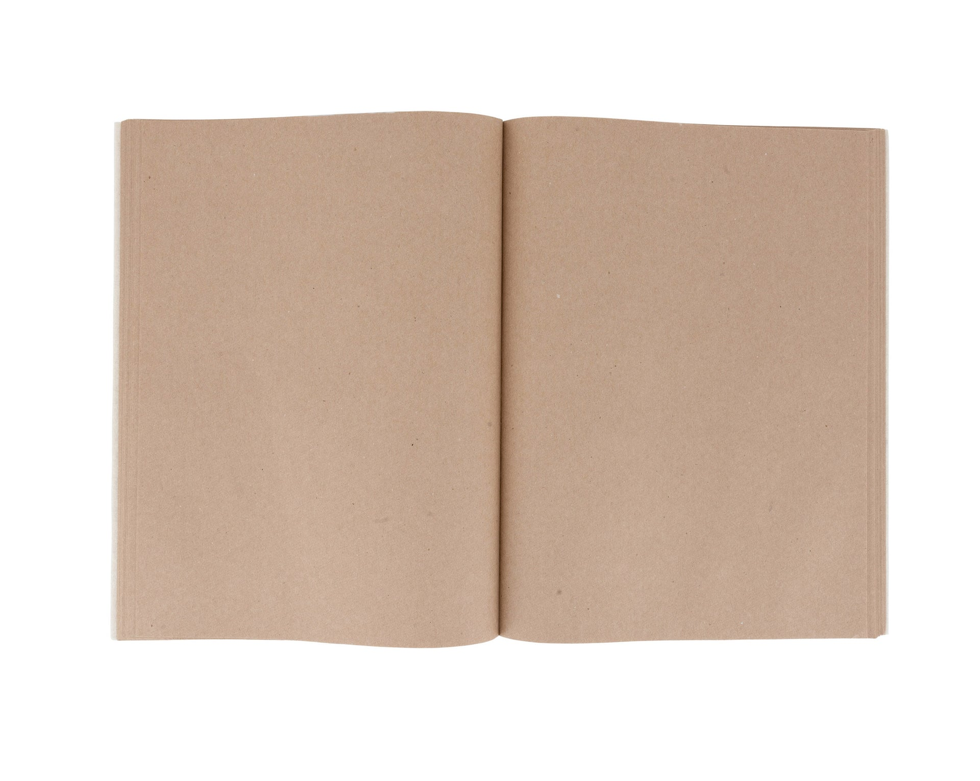 KANTA STICHED BROWN PAPER SKETCH BOOK (INITIAL)