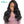 100% cheveux humains Wigs Body Wave Glueless Full Lace Wig