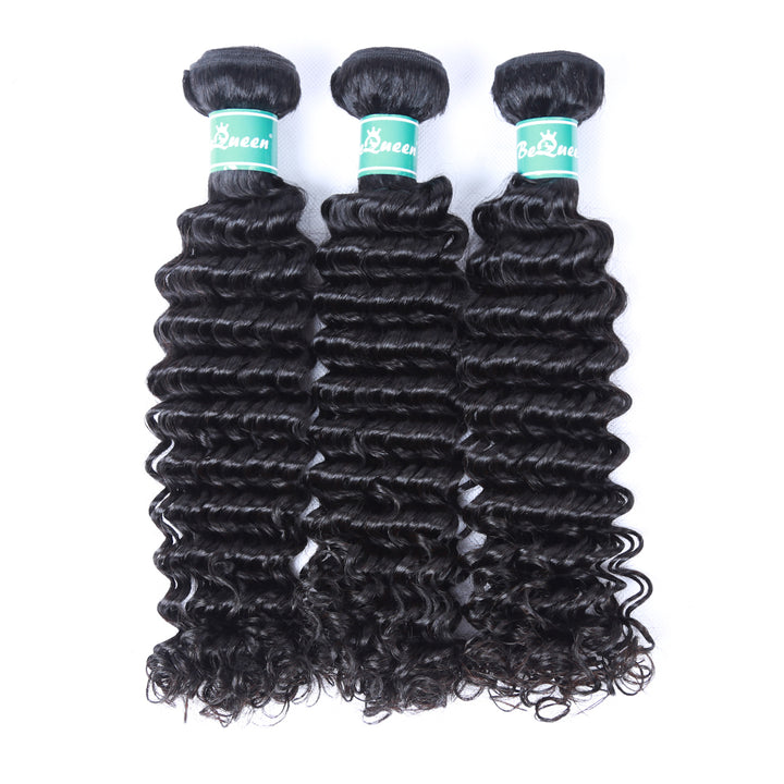10A Brazilian 100% Virgin Human Hair Weave Deep Wave Hair Bundles