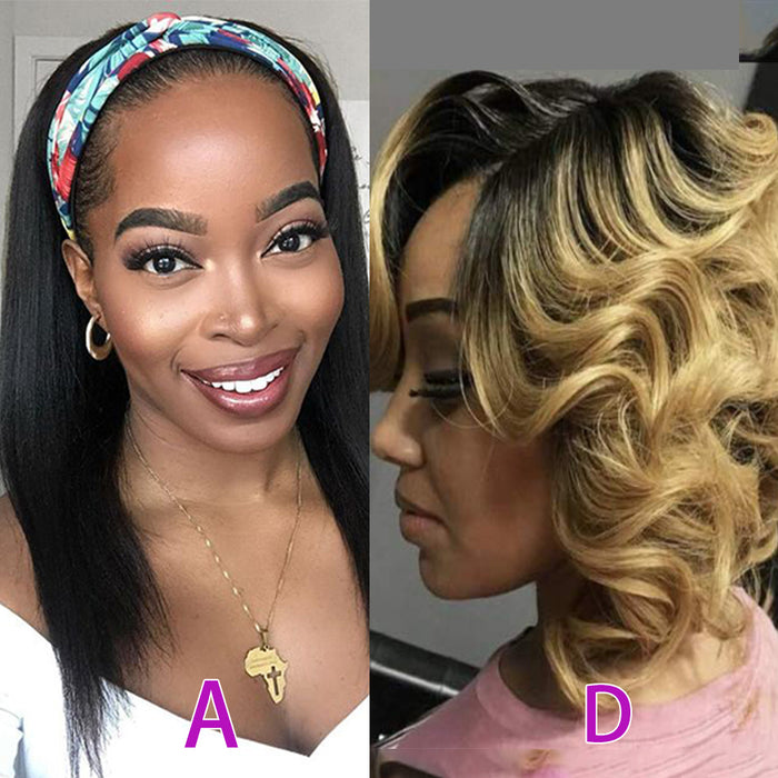 Package Deal for 4 Hair Weave Wigs | BUY MORE SAVE MORE