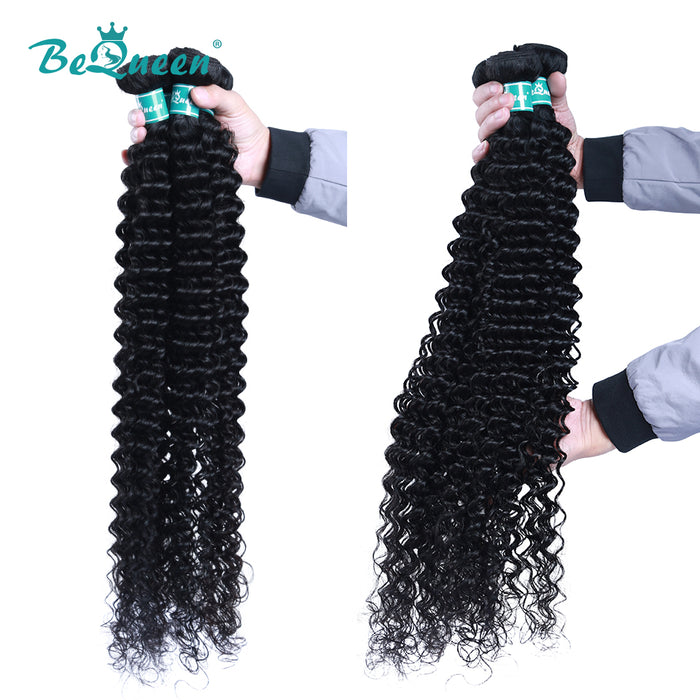 10A Virgin Hair #1B 8-40 inches Deep Wave Long Hair Bundles Deal