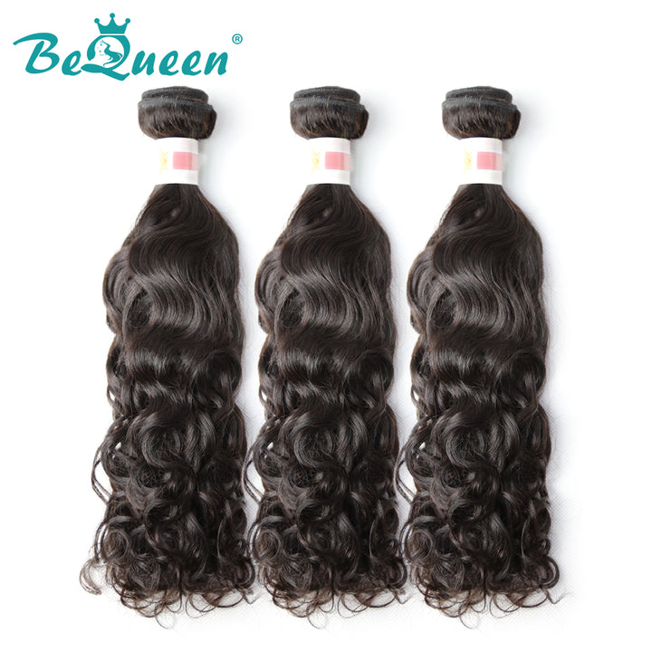 【Bequeen】10A Indian 100% Virgin Hair Water Wave Bundles 12-28 inches available - Bequeen Office Store