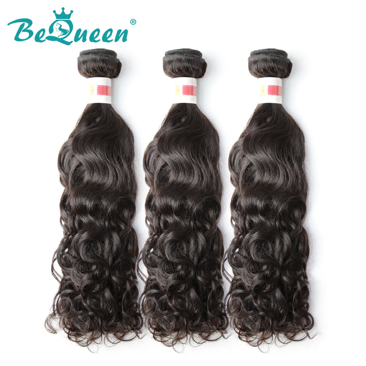 【Bequeen】10A Malaysian 100% Virgin Hair Water Wave Bundles 12-28 inches free shipping - Bequeen Office Store