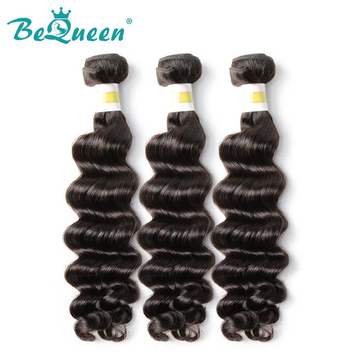 【Bequeen】10A Peruvian 100% Virgin Hair Natural Wave Bundles 8-30 inches available - Bequeen Office Store