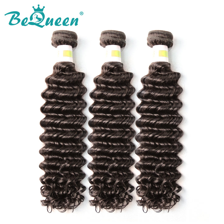 【Bequeen】10A Peruvian 100% Virgin Hair Deep Wave Bundles 8-30 inches available - Bequeen Office Store