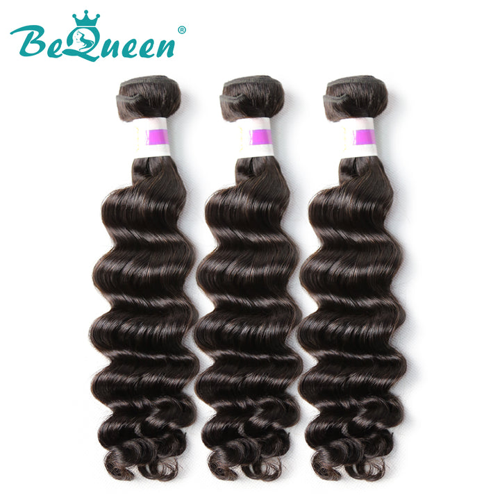 【Bequeen】10A Eurasian 100% Virgin Hair Natural Wave Bundles 8-30 inches available - Bequeen Office Store