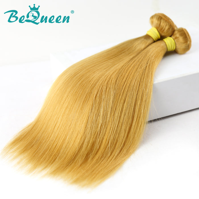 【Bequeen】10A Brazilian 100% Virgin Hair Straight Bundles 144# Color 12-26 inches Available Factory Price - Bequeen Office Store