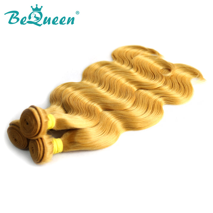 【Bequeen】10A Brazilian 100% Virgin Hair Body Wave Bundles 144# Color 12-26 inches Available Factory Price - Bequeen Office Store