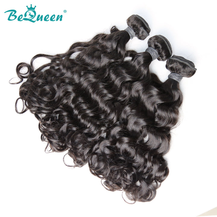 8A Virgin Hair Weave Malaysian Water Wave Human Hair Extensions