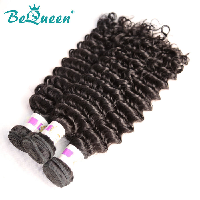 【Bequeen】10A Eurasian 100% Virgin Hair Deep Wave Bundles 8-30 inches available - Bequeen Office Store