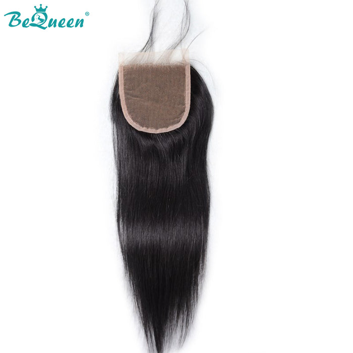 【Bequeen】10A Peruvian 100% Virgin Hair Straight bundles with Closure/Frontal Deal - Bequeen Office Store