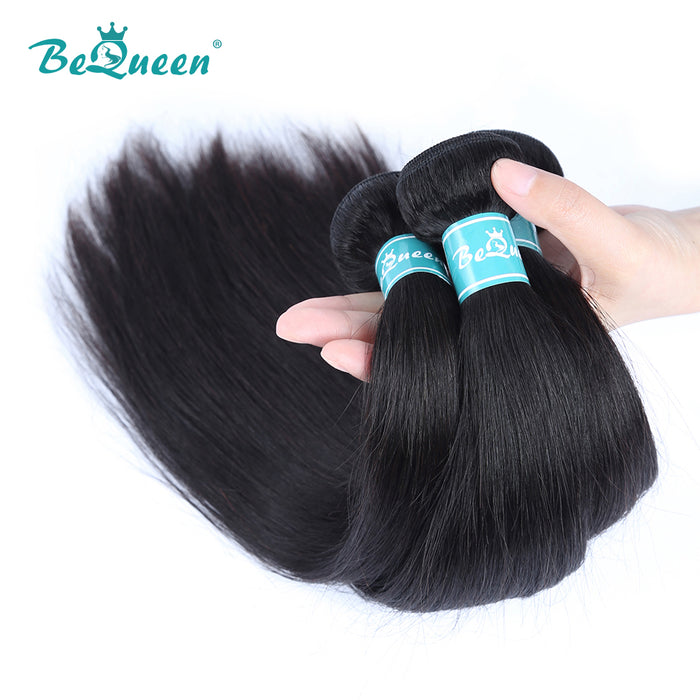 10A Indian 100% Virgin Hair Weave Straight Hair Bundles Deal