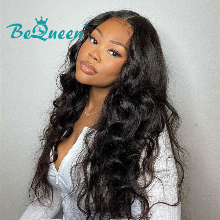250% Density 4x4 Lace Closure Wig 100% Human Hair Wig for Black Women