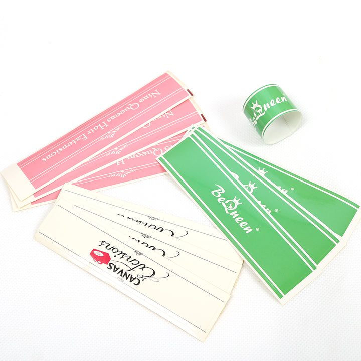 Customized Hair Wraps & Labels 300pcs