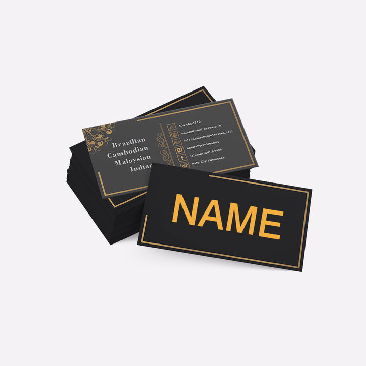 Customized Business Name Card 300pcs