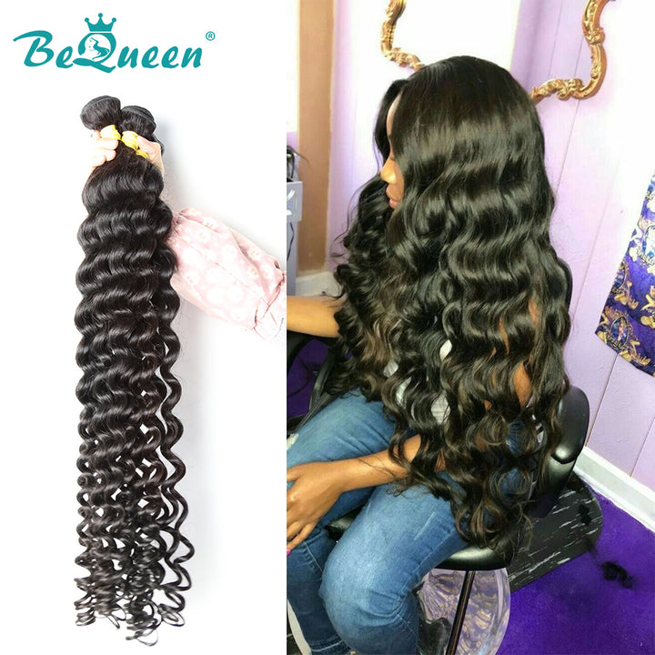 10A Virgin Hair #1B 8-40 inches Natural Wave Long Hair Bundles Deal