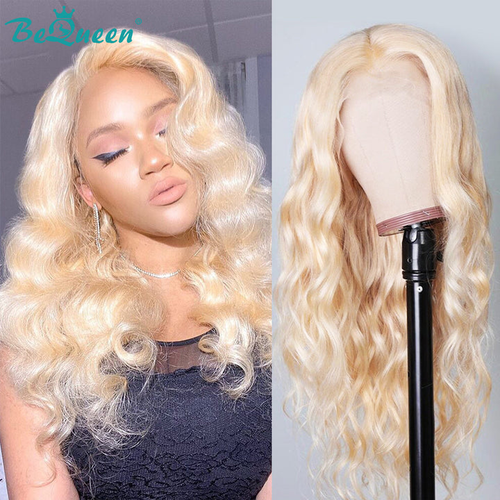 Color Blonde #613 Body Wave Human Lace Wigs