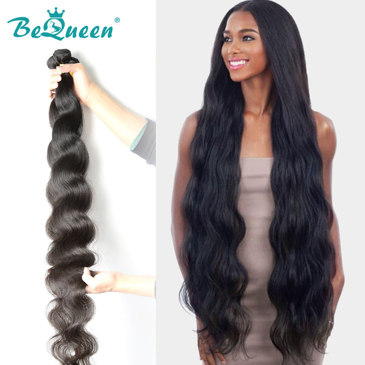 10A Virgin Hair Weave 8-44 inches Body Wave Long Length Hair Bundles
