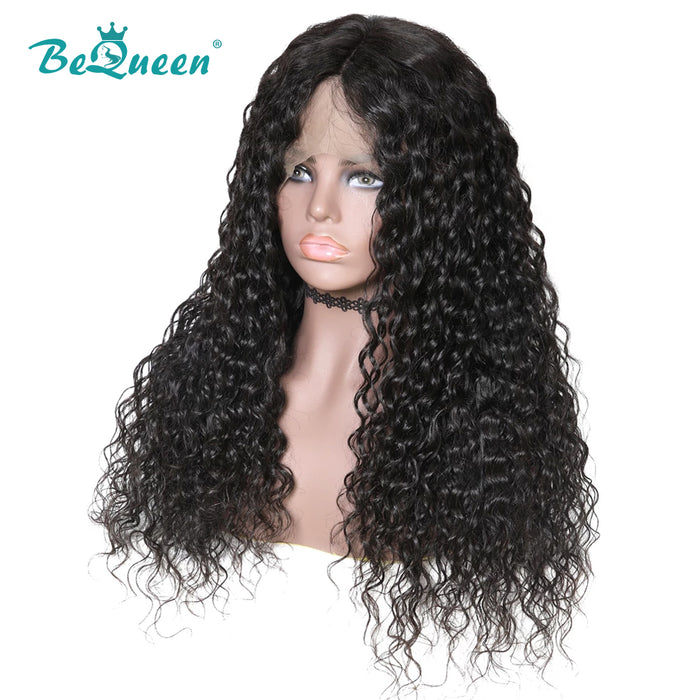 Pré-plucked 360 Lace Frontal Wig Water Wave Human Hair Wigs