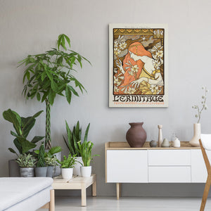 L'Ermitage Canvas Print