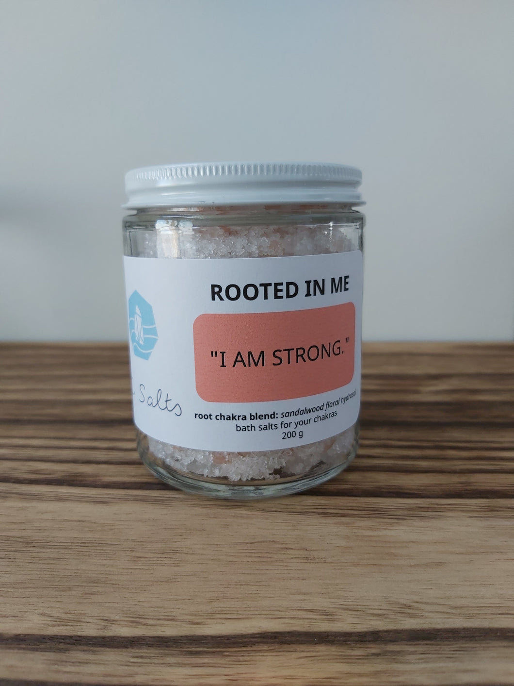 Rooted in Me - Root Chakra Bath Salts