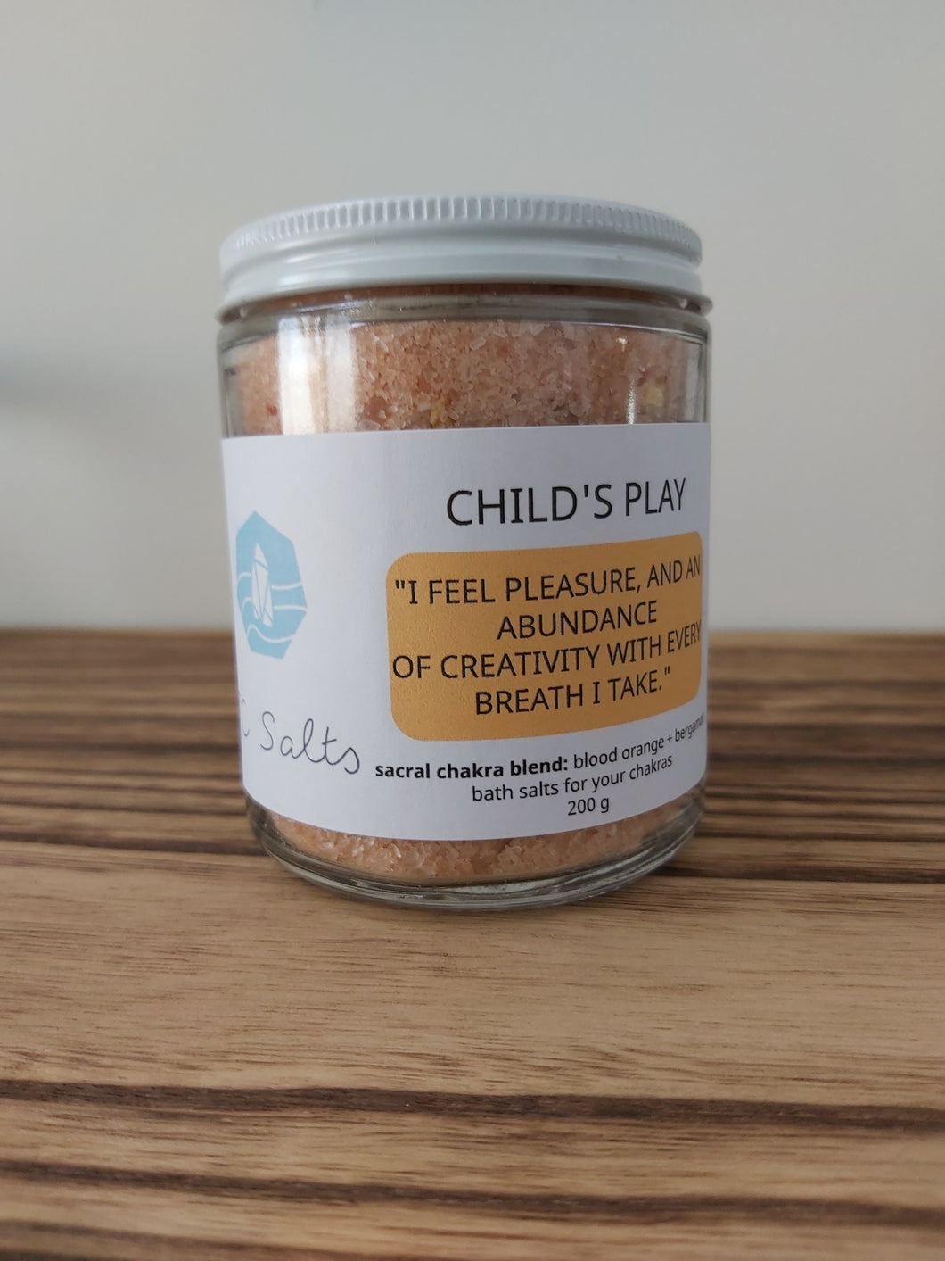 Child's Play - Sacral Chakra Bath Salts