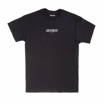 HOTBOX Tee Front Logo Black