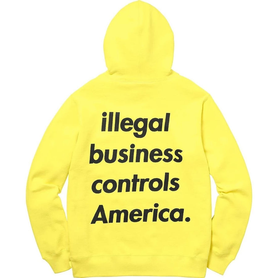 Supreme Illegal Business Hoodie (Yellow)
