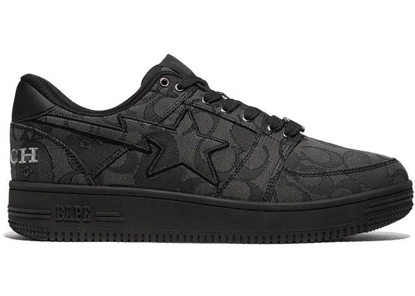 A Bathing Ape Bapesta Coach Black