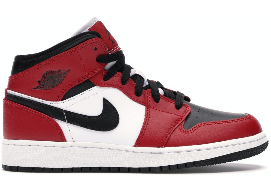 Jordan 1 Mid Chicago Black Toe (GS)