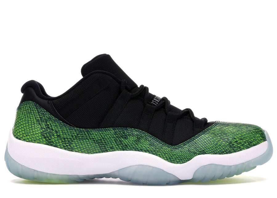 Jordan 11 Retro Low Green Snakeskin