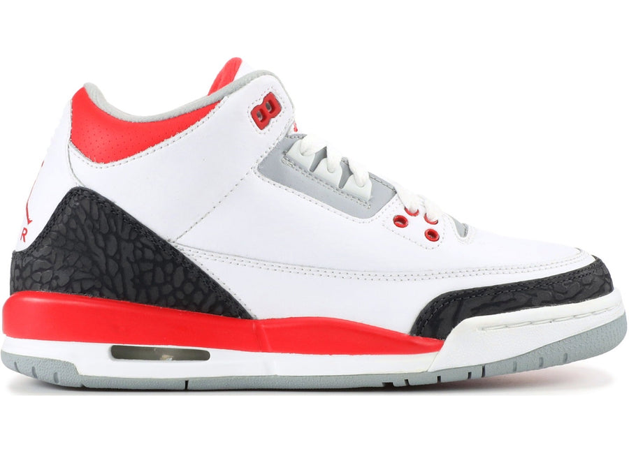 Jordan 3 Retro  Fire Red 2007 (GS)