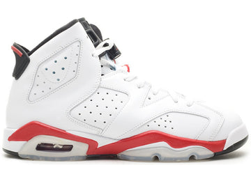 Jordan 6 Retro White Varsity Red (GS)