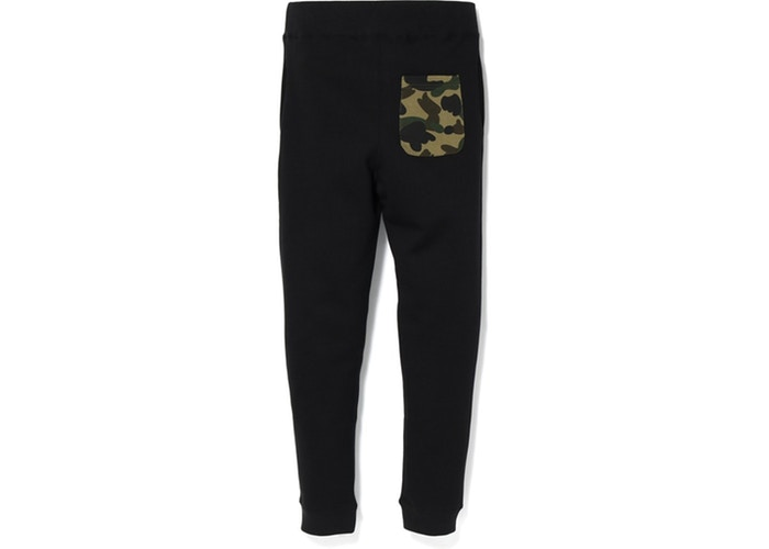 Bape Shark Slim Sweat Pants Black/Green