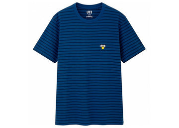 KAWS x Uniqlo BFF Striped Tee (US Sizing) Blue