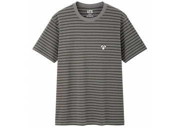KAWS x Uniqlo BFF Striped Tee (US Sizing) Dark Grey