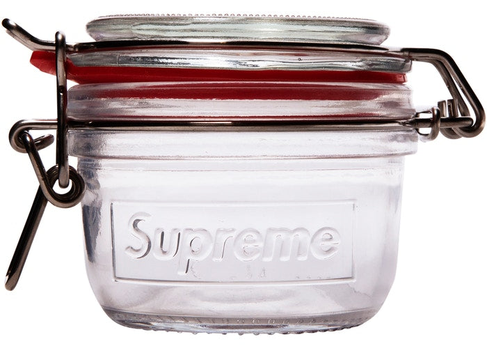 Supreme Jars (Set of 2) Clear